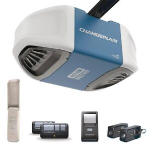 Garage door opener and installation