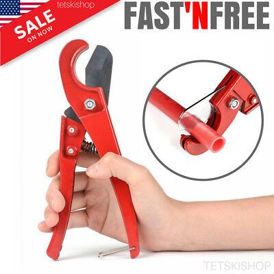 "PEX Pipe Cutter PEX Tubing Cutting Tool 1/8""-1"" Tube Pipes Plumbing Sharp Blades"