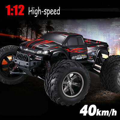 S911 2.4Ghz 2WD Off Road RC Car High Speed Remote Control TRACK Red Toys Gift