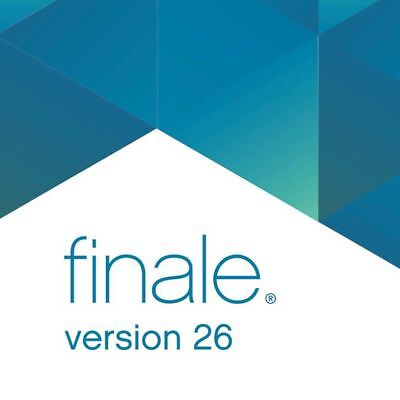 Makemusic Finale 26 Music Notation Software Academic Download **NEW