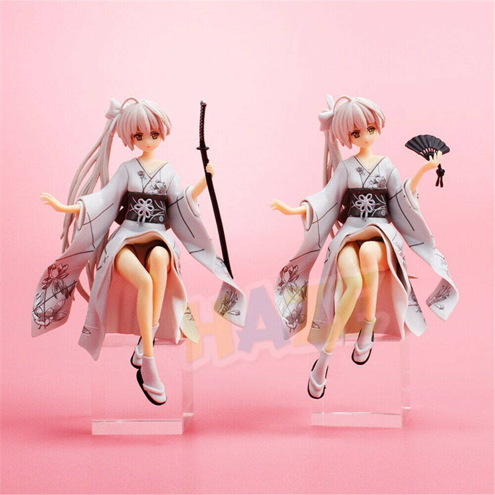 Yosuga no Sora Action Anime Figure PVC Peripherals Doll Model Kimono Sora Figure
