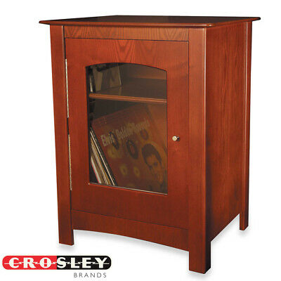 NEW Crosley ST75-PA Bardstown Entertainment Center Stand Cabinet - Paprika for sale  Shipping to India
