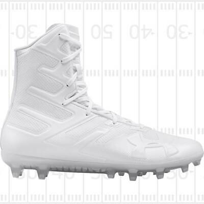 Under Armour Men Highlight MC Football Lacrosse Cleats Shoes White 3000177