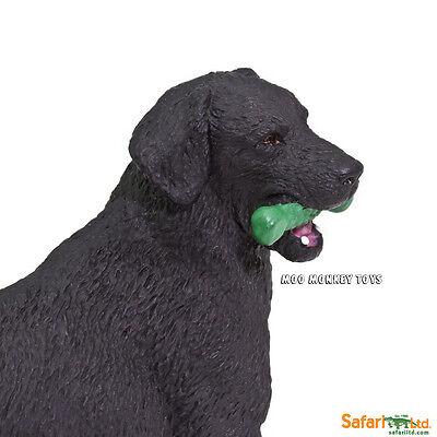 BLACK LABRADOR retriever  Safari Ltd # 253429 Best in Show Dogs Toy Replica
