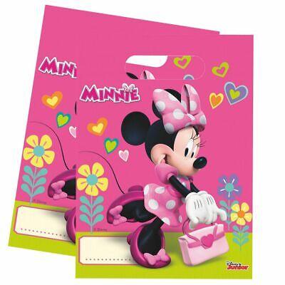 Geschenktüten Mouse   6 Beutel   Minnie Maus   Kinder Geburtstag   Party-Tüten (Party-tüten Minnie Mouse)