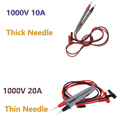 Universal Digital Multimeter Multi Meter Test Lead Probe Wire Pen Cable 1000v