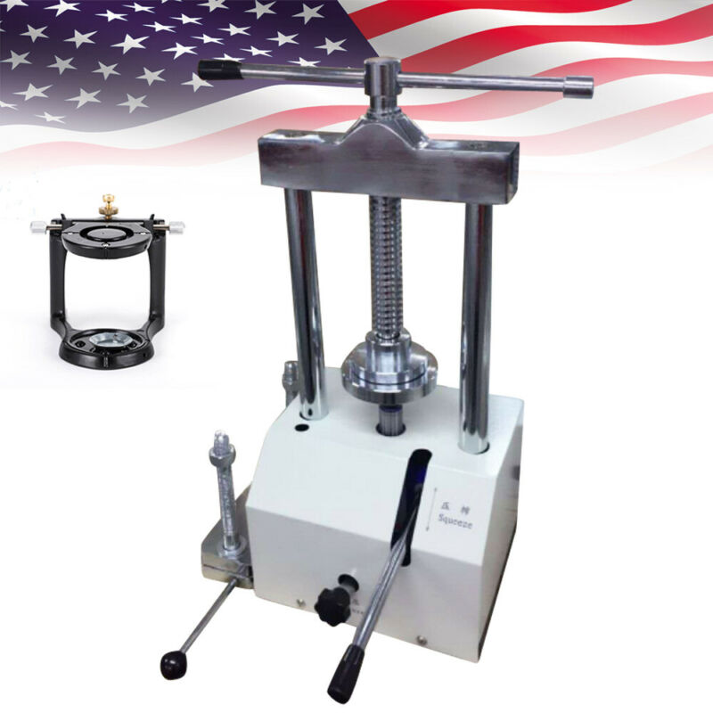 Dental laboratory hydraulic Presser High Pressure Lifting Machine+Articulator US