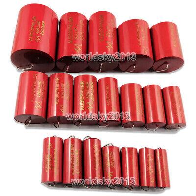 2pcs 1-40uf 250v Speaker Divider Crossover Polypropylene Non-polarity Capacitor