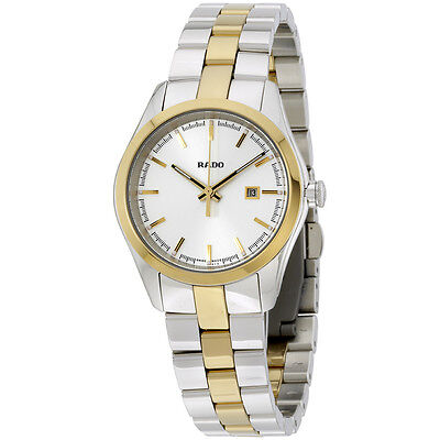 Rado Hyperchrome Silver Dial Two-Tone Ceramos and Steel Ladies Watch R32975102