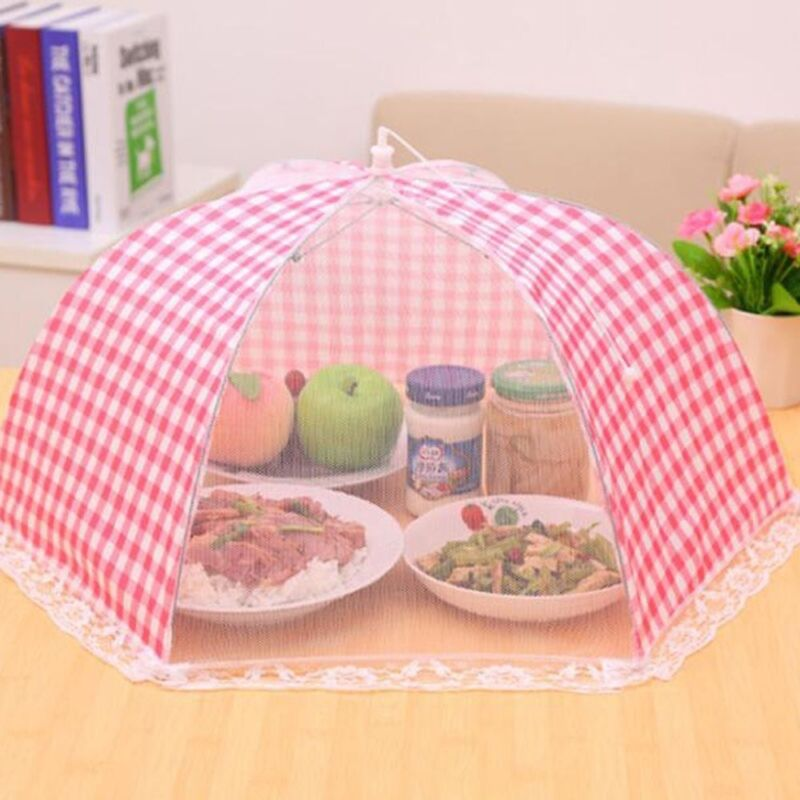 Food Tents Anti Fly Mosquito Cover Picnic BBQ Breathable Foldable Food Cover