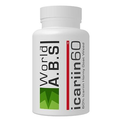 World A.B.S 60% icariin best horny goat weed capsules for men