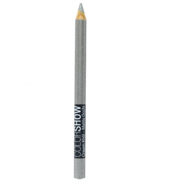 Color Sparkle Maybelline 120 Show Eye Crayon Liner Grey Kohl Pencil H2IEDbeW9Y