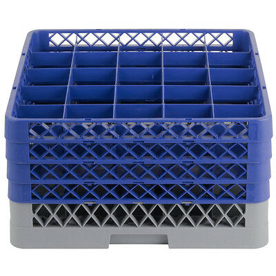 New Commercial Dishwasher Dish Washer Machine 25 Cup Glass Tray Rack 4 Extenders