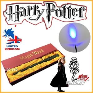 NEW edition HARRY POTTER HERMIONE GRANGER LED WAND Halloween Xmas Gift Light up