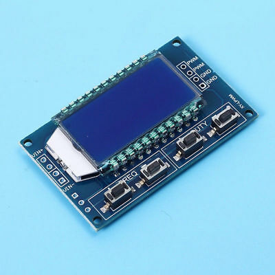 Signal Generator Lcd Display Pwm Pulse Frequency Duty Cycle Adjustable Module