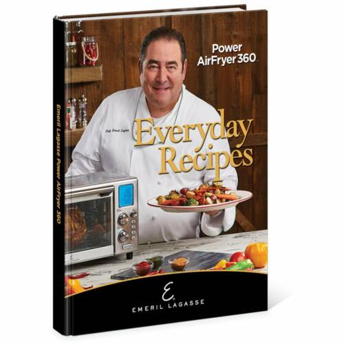 Emeril Lagasse Everyday Recipes for the Power AirFryer 360, Hardcover – 2019