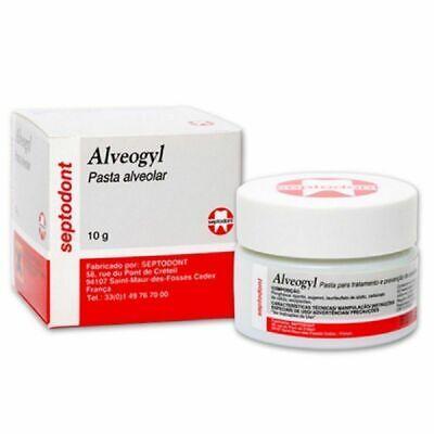 Septodont Alveogyl Paste Septo Alvogyl 10gm Dry Socket Treatment Dental Meterial