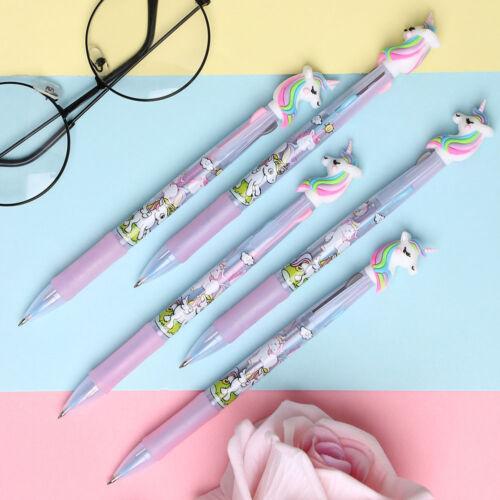 1 pc Cute Unicorn DUCK Cartoon Gel Pen Gift Stationery School /& Office Supply uk