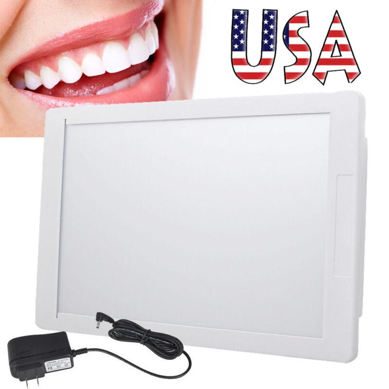 Slim Portable Dental X-Ray Film Illuminator Light Box Viewer light  Panel A4 LED
