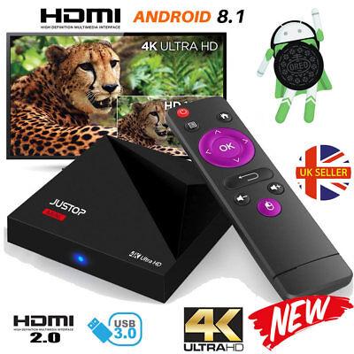 2018 A5X Quad Core Android 8.1 Oreo TV Box HDMI Media Player 4K HD WIFI 17 NEW