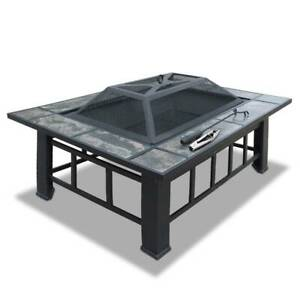 Outdoor Fire Pit BBQ Table Grill Fireplace  Ice Tray 3 in 1 Ideal Kings Beach Caloundra Area Preview