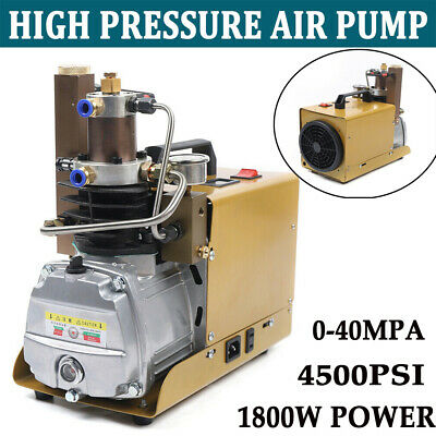 220V Compresor De Aire PCP Eléctrico Alta Presión Bomba De Buceo 30MPa...