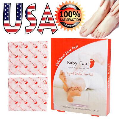 1 Pair Baby Foot Lavender Scented Exfoliant Foot Peel Original Box Sealed