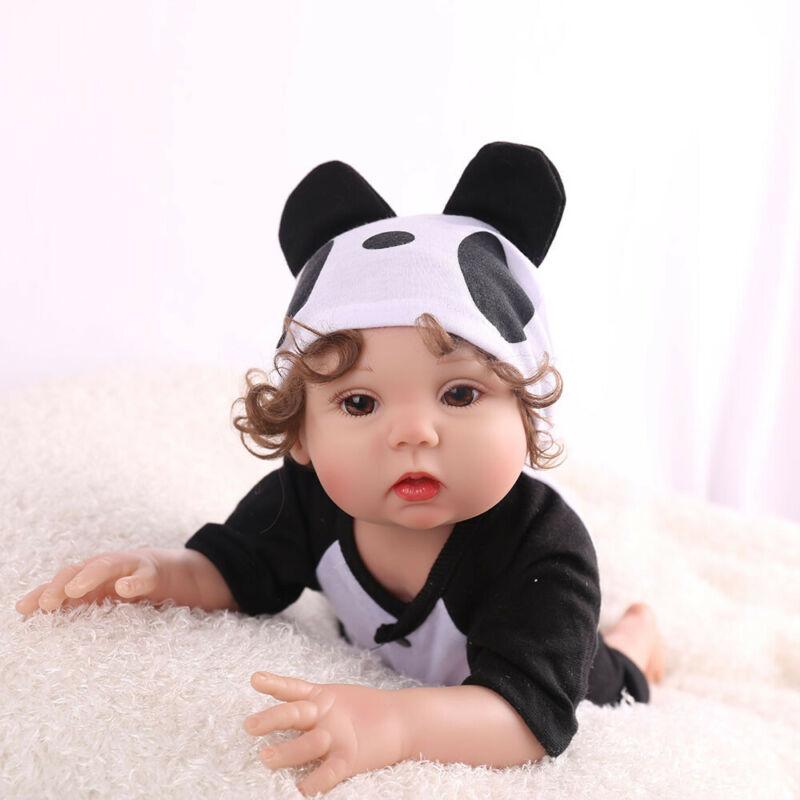 """16"""" Realistic Reborn Baby Doll Full Body Silicone Anatomically Xmas Gifts Dolls"""