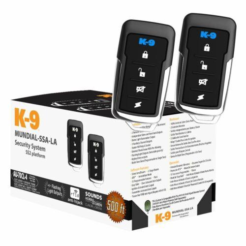 K9-Mundial-SSA-LA Standard 1-Way Alarm