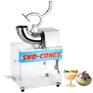 SNO CONE SLUSH MACHINE -  MACHINE IS SHAVER - BIG PROFITS - FREE SHIPPING