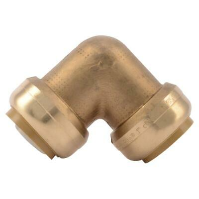 Sharkbite 1 Push-to-connect Brass 90-degree Elbow Fitting Lot Of 3 U260lfa