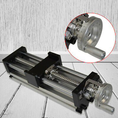 100-1000mm Stroke Sfu1605 Manual Sliding Table Ball Screw Linear Stage Cnc Slide