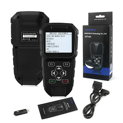 Odometer Adjustment Mileage Correction OBD2 Diagnostic Scanner OBDPROG Auto Tool