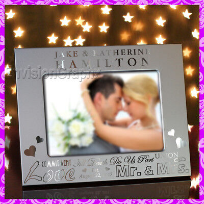 Great Movie Couples (5x7 Personalized Custom Engraved Couples Metal Picture Frame Great Wedding)