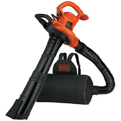 Black & Decker Leaf Blower, Vacuum and Mulcher BEBL7000 New