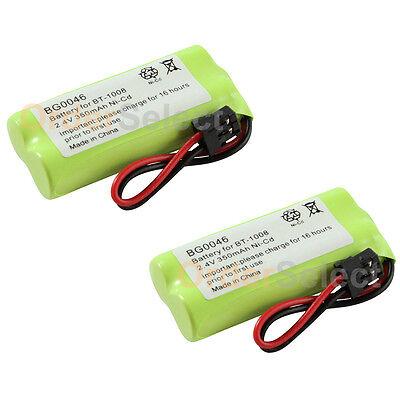 2x NEW HOT! Home Phone Battery for Uniden BT-1008 BT1008 BT-1016 BT1016 50+SOLD