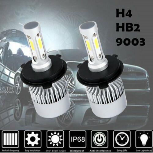 CREE COB H4 HB2 9003 1500W 225000LM LED Headlight Kit Hi//Lo Power Bulbs 6000K