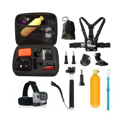 10 in1 Action Camera Accessories Kit for GoPro Hero 5 4 Session 3+ 3 YI 4K G7Q0