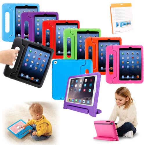 """iPad 5/6th Gen 9.7"""" 2018/17 Case For Kids Shockproof EVA Foa"""