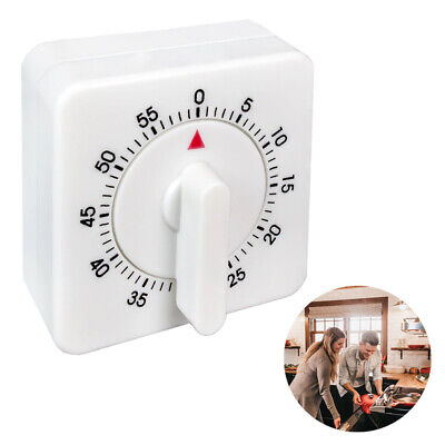 1 Kitchen Timer 60 Minute Timing Bell Alarm Sound Home Baking Cooking Mechanical