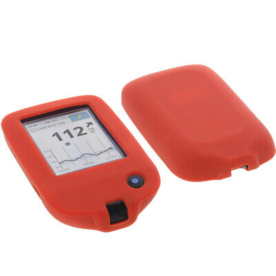 Tasche für Abbott Freestyle Libre 2 Handytasche Schutz Hülle Silikon Silicon Rot