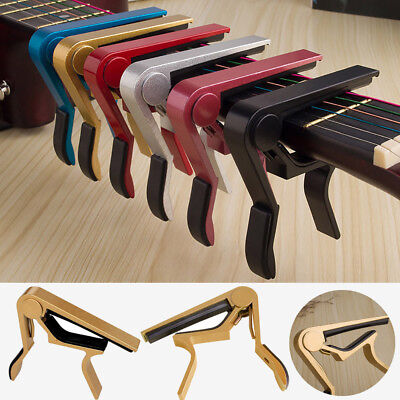 1Change Tune Clamp Key Trigger Capo Acoustic Electric Guitar Accessories LK