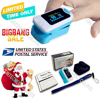 Us Promotedoled Fingertip Pulse Oximeter Finger Spo2 Probe Pulse Monitor Oxigen