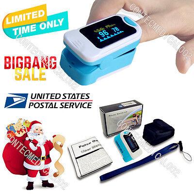 Us Promotedoled Fingertip Pulse Oximeter Finger Spo2 Probe Pulse Monitor Oxigen