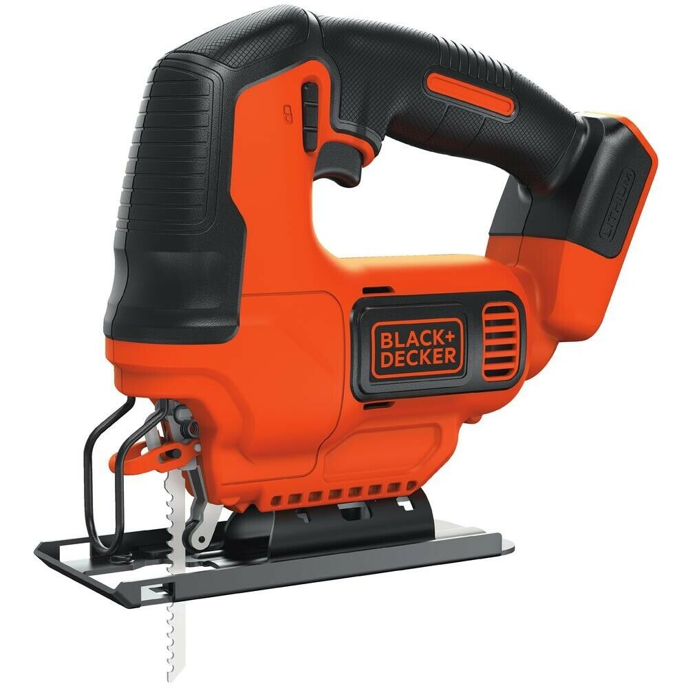 BLACK+DECKER BDCJS20B Lithium Jigsaw Bare Tool, 20V