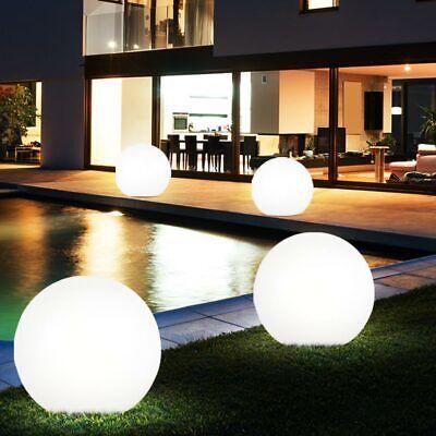 4x LED Solar Ball Lights Garden Porch Outdoor Spot Ground Spike Plug Lights new