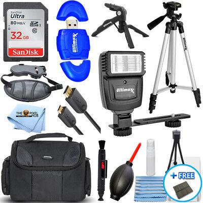 Camera Accessory PRO Kit for Canon T5 T5i T6 T6i T6s T7 T7i SL2 200D 70D 77D 80D