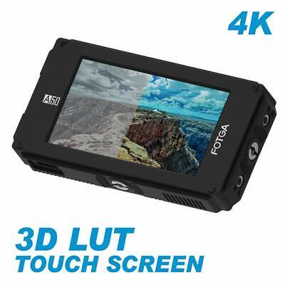 """FOTGA A50TLS 5"""" FHD Video Touch Screen Monitor 3D LUT 3G SDI HDMI 4K 1920x1080P"""
