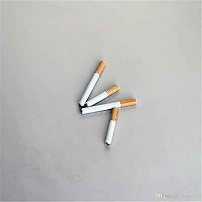5X Metal Bat Cigarette Style Pipe | 3 Inch | One Hitter Dugout | USA SELLER  (3 X Metal Stylus)