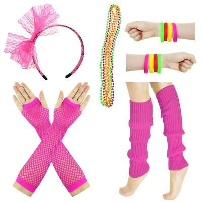 80 Themed Outfits (JINSEY Women's 80s Outfit accessories Leg Warmers Gloves For 1980s Theme...)